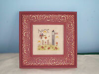 SHEPHERD'S BUSH COMPLETED CROSS STITCH PICTURE HOME SHEEP PATRIOTIC FRAMED