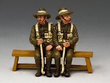 GA010-SA Sitting Anzacs Set #1 (South Australia) by King and Country