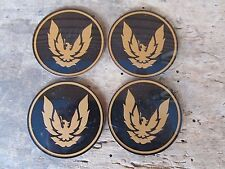 4 NOS 1982-92 Firebird Trans Am Wheel Center Cap Gold Bird Emblems GM 10037816