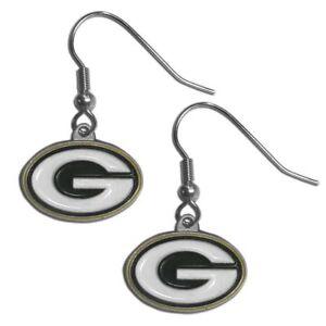 NFL Green Bay Packers Dangle Earrings F5D7Z