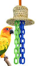 3457 Medium Hatty Bird Toy parrot cage toys cages cockatiel conure african grey