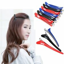 12 Pcs Professional Hairdressing Salon Section Metal Hair Clips Styling Tools