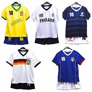 UNISEX Football Kit- various country styles - unbranded