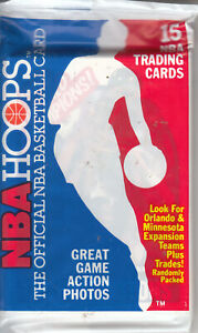 1989-90 Hoops Unopened Pack - DETROIT PISTONS World Champs SP #353 on Top