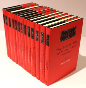 13 Volumes of The Scarlet Library/Erotic Print Society/Adult Fiction/Erotica