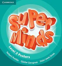 Super Minds Level 3 Posters (10), Gerngross, Günter, Lewis-Jones, Peter, Puchta,