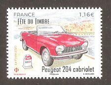 FRANCE 2020 Timbre N° 5429 Peugeot 204 Cabriolet  à 1.16 du bloc N7 NEUF ** LUXE