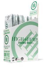 High Hemp Herbal Organic Wraps full box of 25 pouches  (50 total wraps)