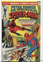 Peter Parker- The Spectacular Spider-Man #1 NM Marvel Comics  CBX1D