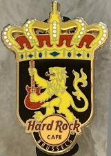 Hard Rock Cafe BRUSSELS 2012 City Shield with Royal Crown PIN - HRC #68256