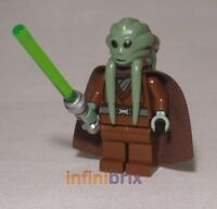 Lego Kit Fisto Minifigure from set 9526 Star Wars Jedi NEW sw422