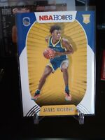 2020-21 Panini NBA Hoops JAMES WISEMAN Rookie Card Golden State Warriors RC #205