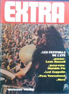 EXTRA Numéro 46 Septembre 1974 Christian VANDER Superbe etat !