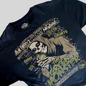 7.62 Designs US Marine Corps T-Shirt 2XL USMC The Green Monster US Pride