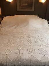 Antique Bate's George Wasington's Choice Cotton Chenille Bedspread
