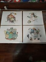 """Vintage Norman Rockwell """"Four Ages Of Love""""  Prints, Standard Packaging Corp"""