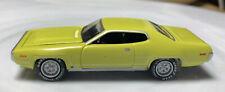 Johnny Lightning Plymouth Satellite Green 1/64 Real Riders Diecast Mopar Hemi