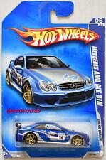 HOT WHEELS 2009 DREAM GARAGE MERCEDES AMG CLK DTM #06/10 BLUE