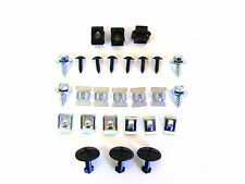 ROMIX AUDI A6 C6 Engine under cover fastener kit of 27Pc 2713