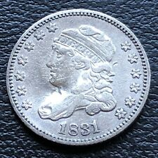 1831 Capped Bust Half Dime 5c High Grade XF Details #27527