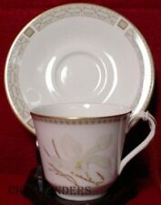 ROYAL DOULTON china WHITE NILE TC1122 pattern Cup & Saucer Set - 2-7/8""