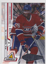 2010 10-11 Pinnacle Rink Collection #218 P.K. Subban RC Rookie