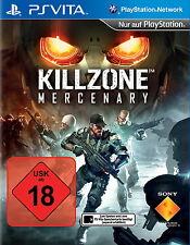 PS Vita Spiel KILLZONE MERCENARY - wie  - NEU -  (USK 18) Sony Game Playstation