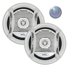 NEW AXIS Marine Speaker Pair 6.5 Inch 160W 2-Way Flush Mount 4 Ohm Quality Audio