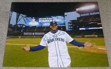 ROBINSON CANO SIGNED 11x14 inch PHOTO w/ EXACT VIDEO PROOF! SEATTLE MARINERS
