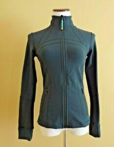 Women's Lululemon Seeweed Green Define Jacket Activewear Slim Fit in size 6
