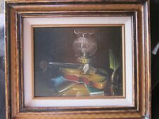 Frank Lean - Original Oil on Canvas - Signed - REDUCED!