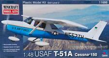 Minicraft Models 1:48 Cessna 150 USAF ATC Plastic Model Kit 11666
