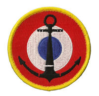 Ecusson patche marine nationale cocarde aéronavale blason emblème patch brodé