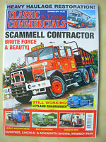 CLASSIC & VINTAGE COMMERCIALS MAGAZINE OCTOBER 2014 SCAMMEL CONTRACTOR RENOWN