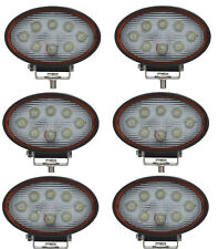 6x LED Scheinwerfer Arbeitsscheinwerfer Nahfeldausleuchtung E9 Prüfzeiche 24W