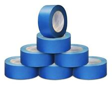 5.6 Mil 3/4 Inch x 60 Yards Blue Painter Adhesive Masking Tape 64 Rolls / Case