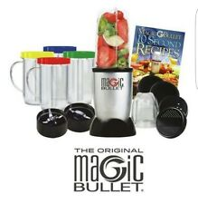 L'Original Magic Bullet 17 Pièces Set * Vendeur Britannique * 100% ORIGINAL ** FREE P & P **