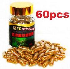 Aquarium Plant Grass Fertilizer Root Tab Capsules With Bottle 60 Capsules 60PCs☆