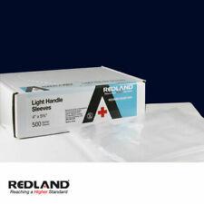 "REDLAND Dental Light Handle Sleeves 4"" x 5.75"" Clear 1000/Pack"