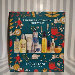 L'Occitane En Provence Radiance & Hydration Holiday Gift Set 2021 New in Box