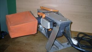 Elu Electric 240v Planer with Stand and Cuttings Bag Used.