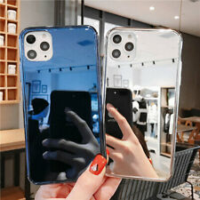 For iPhone 11 Pro Max/XR/XS/7/8/6s Plus Mirror Glass Slim Shockproof Case Cover