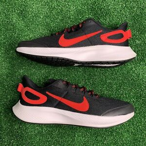 Nike Run All Day 2 Running Gym Shoes Black Red CD0223-001 Men Size 10 New