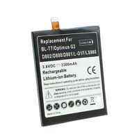 Replacement Battery for LG G2 D800 D801 LS980 VS980 BL-T7