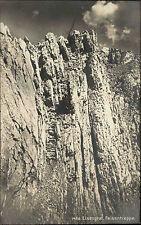 Lisengrat Appenzeller Alpen Schweiz s/w AK ~1920/30 Felsentreppe ungelaufen