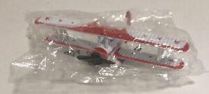 1991 RBPS Red Baron Pizza Stearman Squadron 1:72 Die-Cast Bi-Plane NIP
