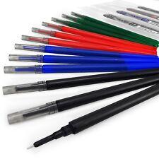 Pilot Frixion Point Recharges –0.5mm– Pack de 4 – noir, bleu, rouge, vert
