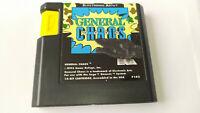 Genuine General Chaos Sega Genesis Game Cart *NTSC-U*