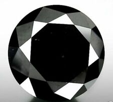 Tiny 0.005 Ct 1 MM Z Black AAA color Round Brilliant cut Natural Loose Diamond