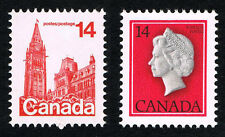 Canada Sc 715 - 716 = 1978 Parliament and Queen Pairs - MINT NH VF - PO FRESH!